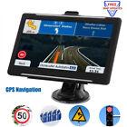 7inch Car & Truck GPS Navigation SAT NAV 8GB Free Map 2021 USA Canada Mexico