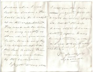 Baron Lyndhurst - Lord Chancellor 3 times - 1846 letter: Law books to London