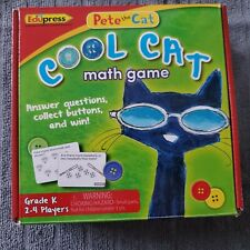 Pete the Cat Cool Cat Math Game Grade Kindergarten Edupress