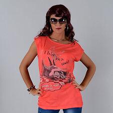Locker sitzende Damenblusen, - tops & -shirts mit U-Ausschnitt für die Freizeit
