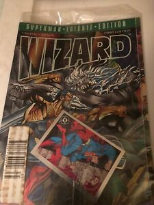 1993 DC Wizard Superman Tribute Edition First Edition UNOPENED  See Pics ♾