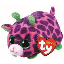 TY Beanie Babies 41253 Teeny TYS Ferris LA GIRAFFA VIOLA