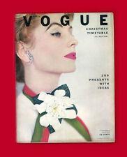 VOGUE-NOVEMBER 15,1952-SUZY PARKER-SUNNY HARNETT-JEAN PATCHETT ADS-CHRISTMAS