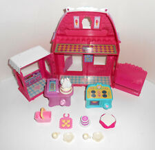 HASBRO MY LITTLE PONY Cotton Candy Ice Cream Cafe Store Building Accessories Lot
