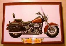 HARLEY-DAVIDSON FLSTC HERITAGE SOFTAIL CLASSIC MOTORCYCLE Y2K BIKE PICTURE 2000