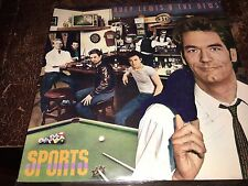 Huey Lewis And The News Sports 1983,Autograph ,Vinyl, Backup Cd