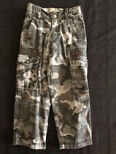 The Original Arizona Camouflage Boy Cargo Bottoms Size 4s