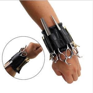 Barber Stylist Schere / Scheren Wristlet Tasche Kämme Clips Werkzeuge