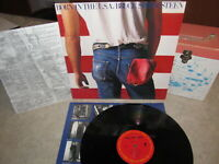 BRUCE SPRINGSTEEN Vinyl LP BORN IN THE U.S.A. W/Inner & Insert Columbia QC 38653