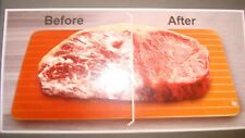 Defrosting Meat Tray Copper Coating Rapid Thawing for Frozen Food Fast & Easy