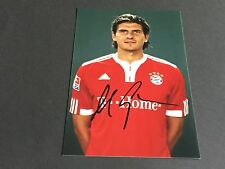 MARIO GOMEZ FC BAYER MÜNCHEN signed Photo 10x15
