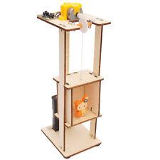 Assemble DIY Electric Lift Children Science Toys Experimental Materials Kit
