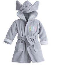 New Disney Dumbo Baby Bath Robe 6-9 Months Disneyland Elephant Free Shipping