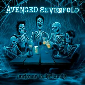 AVENGED SEVENFOLD Welcome to the Family BANNER HUGE 4X4 Ft  Fabric Poster Flag