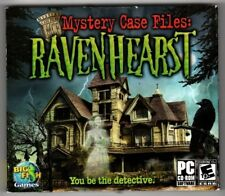 Mystery Case Files: Ravenhearst (PC, 2006, Big Fish Games) - Free USA Shipping!
