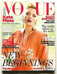Vogue UK British magazine august 2011 agosto Kate Moss Mario Testino