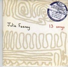 (AX890) Julie Feeney, 13 Songs - DJ CD