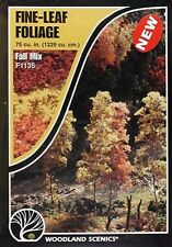 Woodland Scenics F1135 Fine Leaf Foliage Fall Mix - NIB