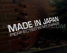 MADE JAPAN JDM Japanese car decal sticker Subaru Suzuki Toyota Yamaha Kawasaki