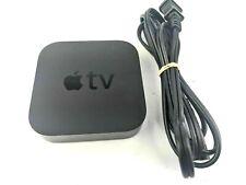 Apple Tv (3rd Generation) Media Streamer - Black A1469 No remote Works
