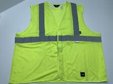 Walls Work Wear Safety Vest 3m Reflective Material Class 2 Size 2xl