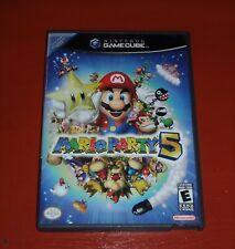 Mario Party 5 (Nintendo GameCube, 2003) -No Manual