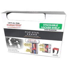 "15"" Stackable Locker Shelf White - Five Star"