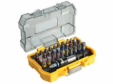"DEWALT 32 Pce 1/4"" Drill Screwdriver Bit Set Torx,Hex,Ph,Pz,Slot + Holder DT7969"