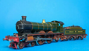 Kit Built GWR SCOTT ATLANTIC CLASS 4-4-2 LOCO 188 finescale OO