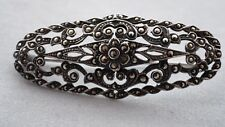 Marcasite 925 Silver Brooch Estate Jewellery Ideal Gift