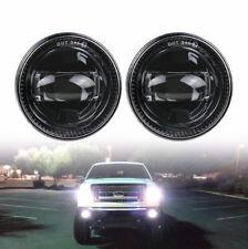 Rond  Led Fog Light For Ford F150 2007-2014 Pair of Bumper Driving Fog Light H11