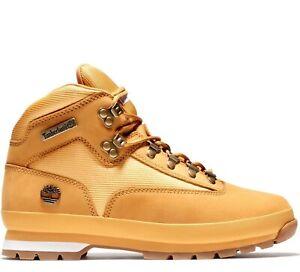 Timberland Euro Hiker Wheat Nubuck Men's Boots 91566231 BRAND NEW!