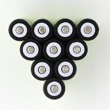 10PCS 3.7V 5800mAh 18650 Li-ion Rechargeable Battery For Flashlight From USA @O5