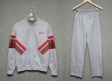 1973 Rare Adidas 70`s Men`s Track Top Pants Sport Suit Made in France Size S M