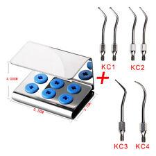 6pc ZEG Spitze Dental Scaler Tip Cavity Preparation für KAVO SONICFLEX w/ Holder