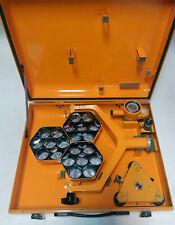 Rare Carl Zeiss 21 Prisms Set Target Theodolit Transit Parts Theo Dahlta Vintage