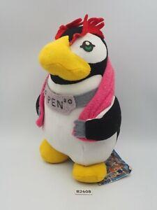 "Neon Genesis Evangelion B2608 PEN Penguin TAG SEGA 1997 Plush 7.5"" Toy Doll"