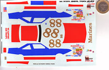 decals decalcomanie deco pontias mariner nascar 1991  1/43
