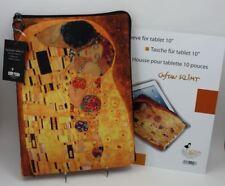 """Tasche / sleeve für 10"""" eBook Tablet notebook PDA - KLIMT Der Kuss"""