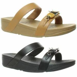 FitFlop Womens Lottie Marble Gem Sandals