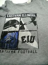 Boys UNDER ARMOURShort Sleeved Gray T Shirt Size L Youth EIU Football Panthers