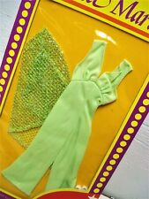 Vtg Mego CHER 70s Doll Clothes NETWORKS *Green * Alternate Packaging *Rare 1978