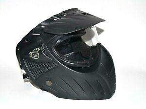 XRay Extreme Rage Paintball Goggle Mask Helmet Black