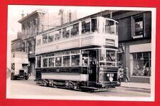 Tram Photo ~ Sheffield 433 - 1920 Queens Road Standard - Wicker: October 1954