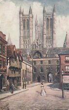 TUCK: LINCOLN-Old Lincoln  Exchequer Gate-OILETTE 7231