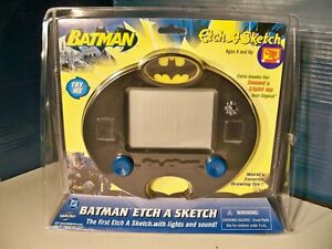Batman Etch A Sketch new in Package 2005