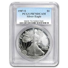 1987-S Proof Silver American Eagle PR-70 PCGS (Registry Set) - SKU #61340