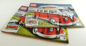 Lego Creator Expert VW T1 Campingbus 10220, nur Bauanleitung