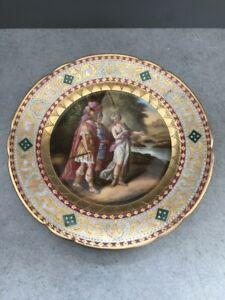 Ansichten Teller Alt-Wien  Augarten Porzellan handbemalt  feinste Lupenmalerei