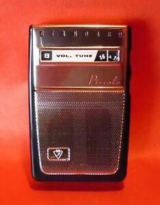 STANDARD PICCOLO F300A Pocket Taschenradio Transistorradio '60 Collector Vintage